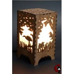 Lampe bords d'eau (bois)