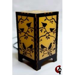 Lampe oiseaux (jaune)